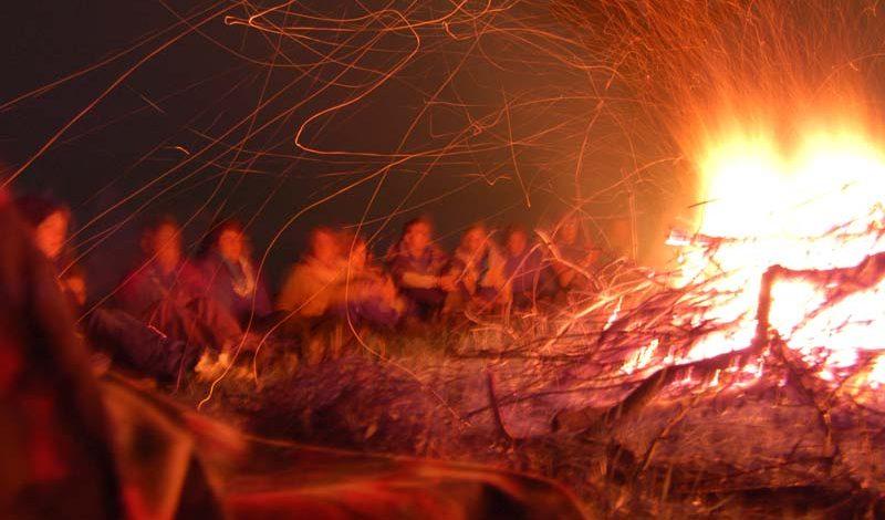 Strandfeuer á la Biikebrennen 22. Februar 2020